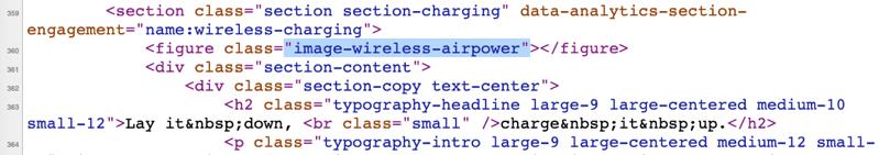 Apple website source code