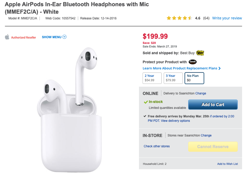Best buy airpods clearance