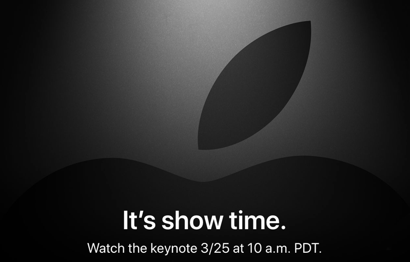 It s show time apple event