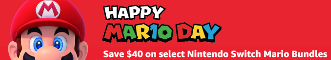 Mario day amazon nintendo