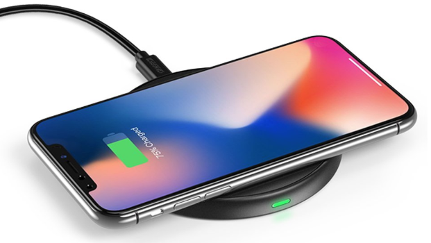 Qi wireless charger iphone