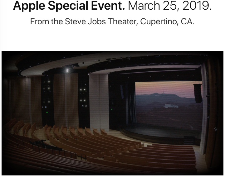 Steve jobs theater live