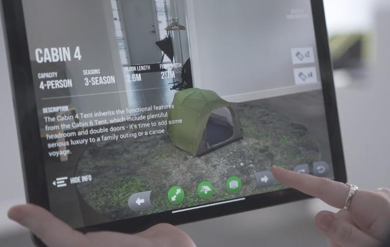MEC ipad AR app toronto
