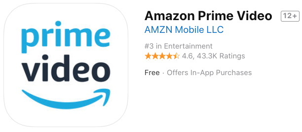 Amazon prime video ios