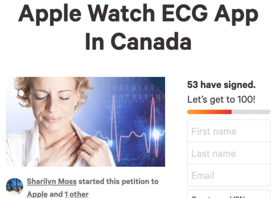 Canadians Start Petitions Urging Apple to Bring Apple Watch ECG App to Canada