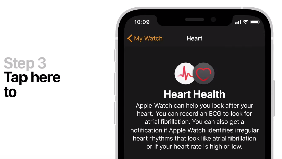 Apple watch heart health