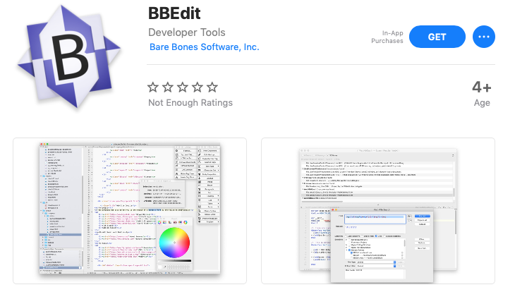 Bbedit 12 mac app store