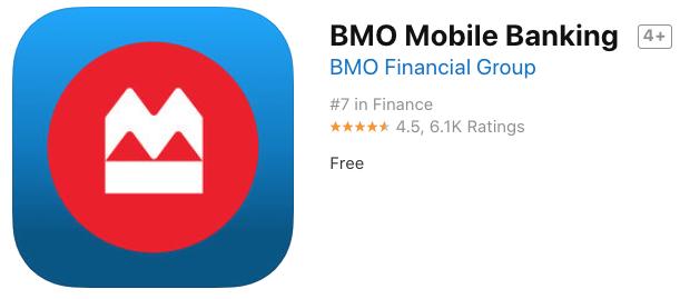 Bmo mobile banking ios