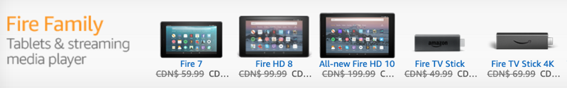 Fire tablets sale