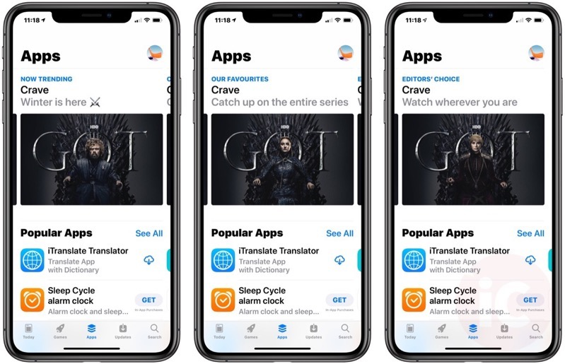 Game of thrones app store 2