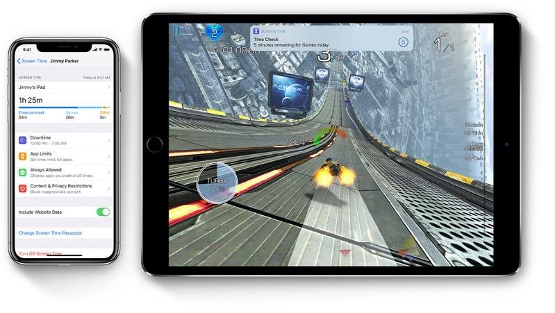 Ios12 ipad pro iphone x screentime hero