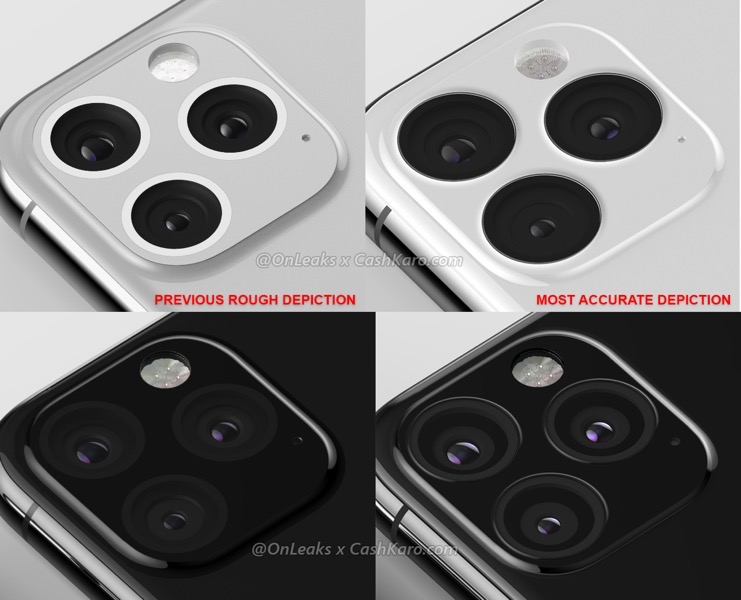 Iphone xi max cameras