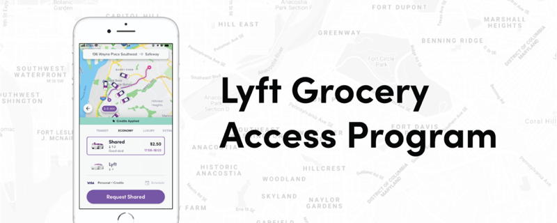Lyft grocery access program