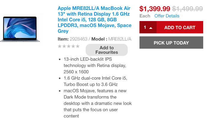 Macbook air sale staples