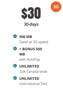 Public mobile $30