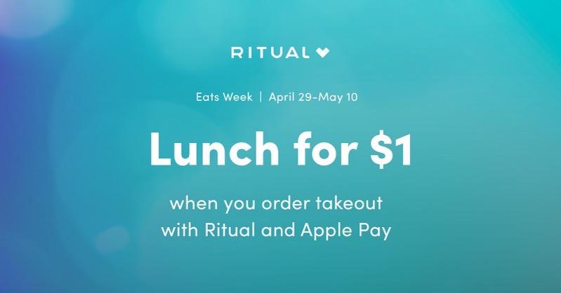Ritual eats week $1