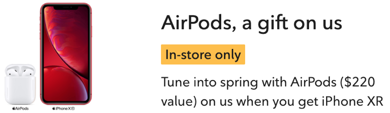 Rogers airpods promo