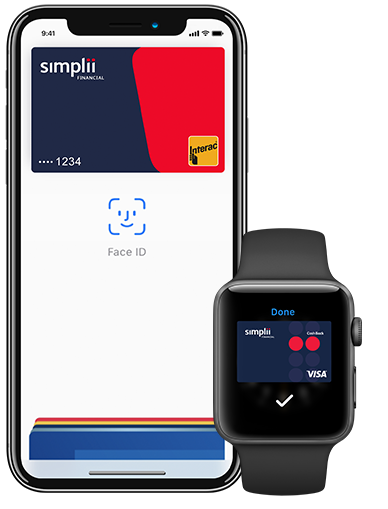 Simplii fiancial visa apple pay