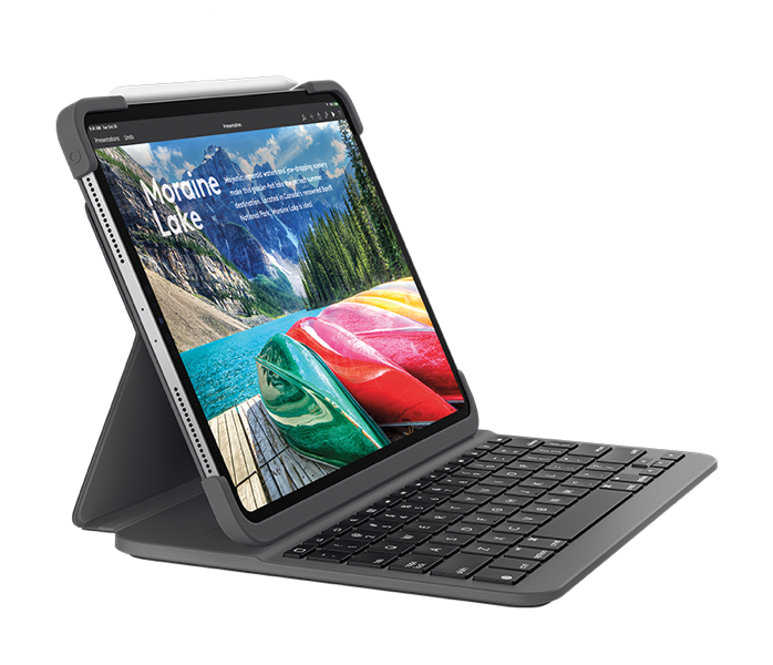 Logitech launches backlit keyboard for iPad Pro