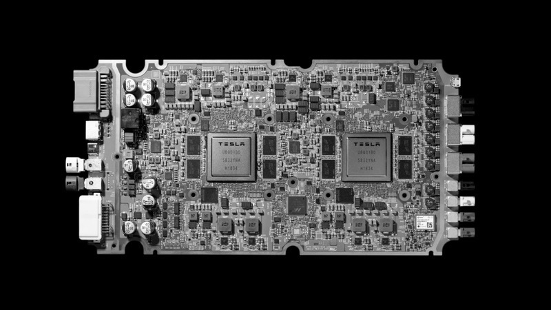 Tesla full self driving computer