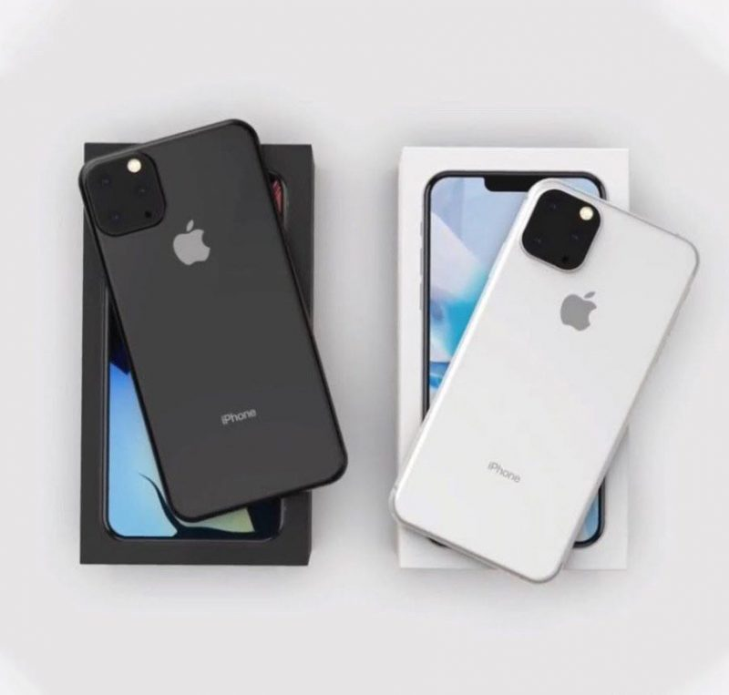 Alleged Photo of 2019 iPhone Chassis Shows Triangular Triple