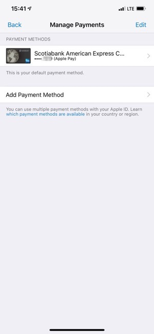 Apple pay itunes payments 2