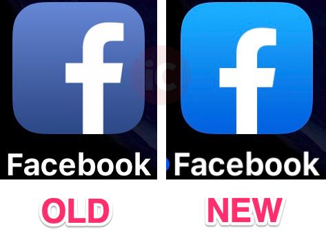 Facebook ios icon new