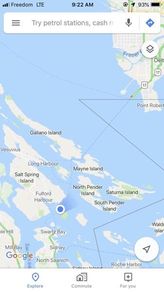 Freedom mobile gulf islands
