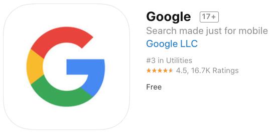 Google mobile ios app