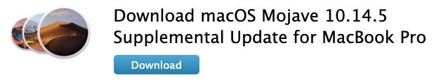 Macos supplemental update macbook pro