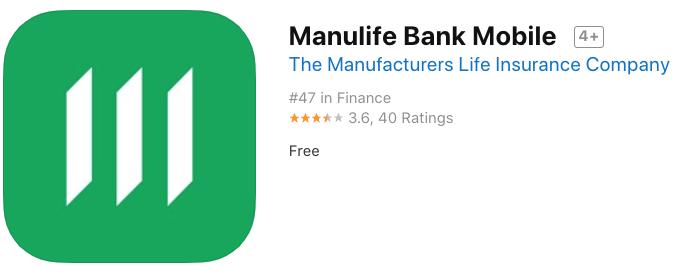 Manulife bank ios