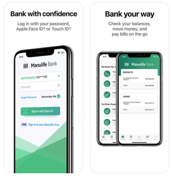Manulife bank iphone