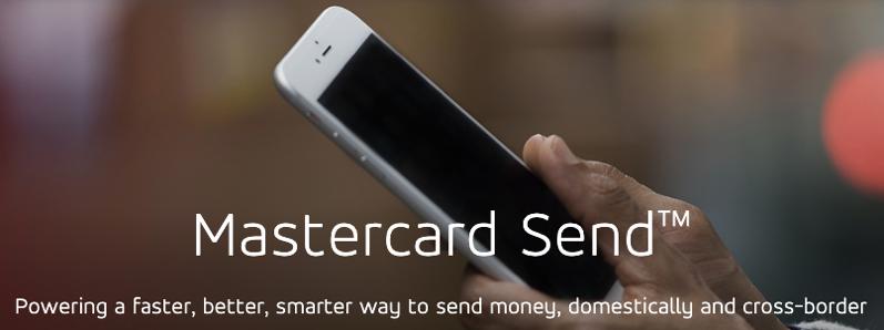 Mastercard send interac