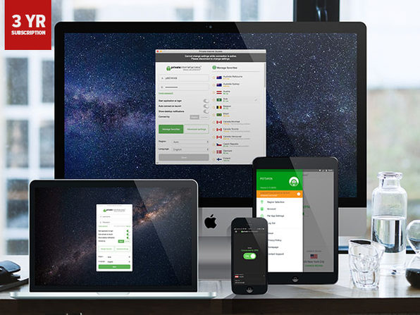 Private internet access VPN 3 year