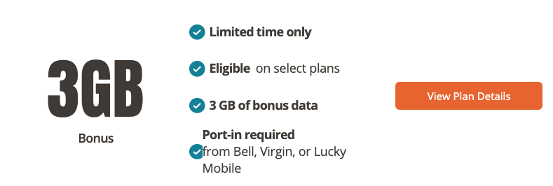 Public mobile 3gb data