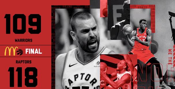 Raptors win game 1 2019