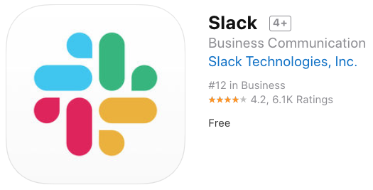 Slack ios app