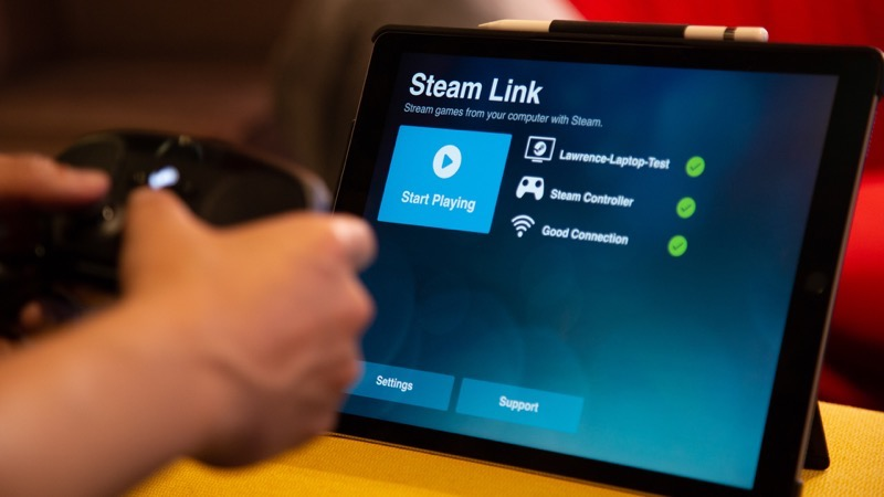 Steam link ios apple tv