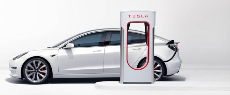 Tesla supercharger model 3