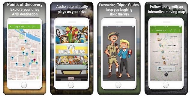 Tripvia app