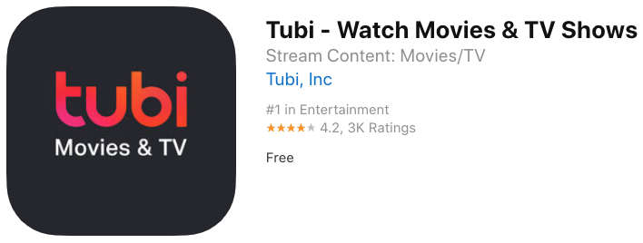 Tubi movies tv app