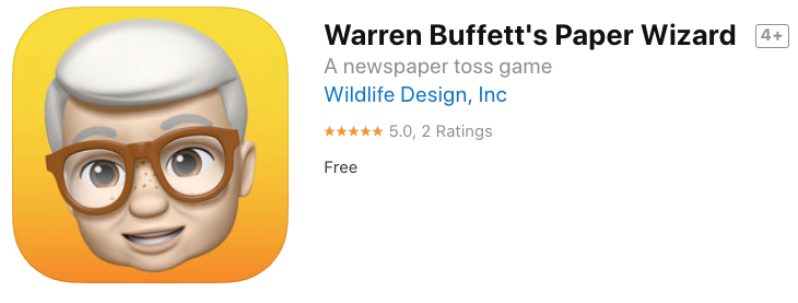 Warren buffet paper wizard 2