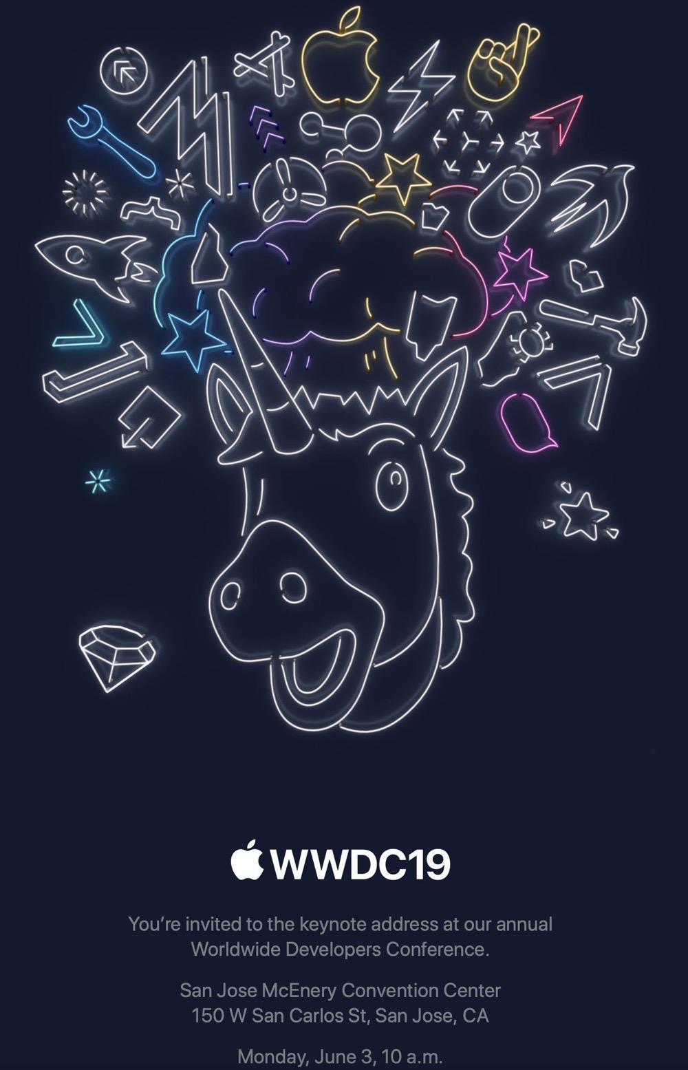 Wwdc 2019 invite