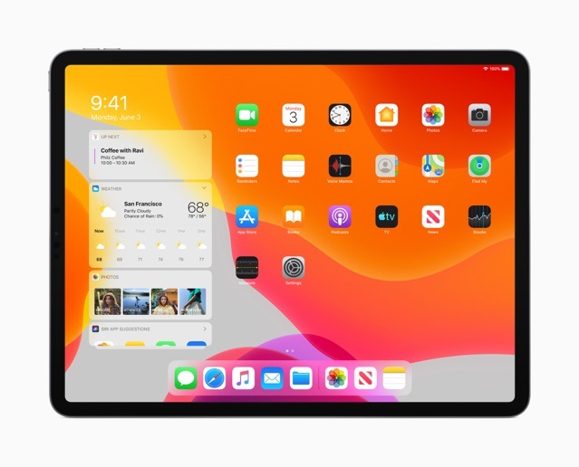 Apple iPadOS Today View 060319