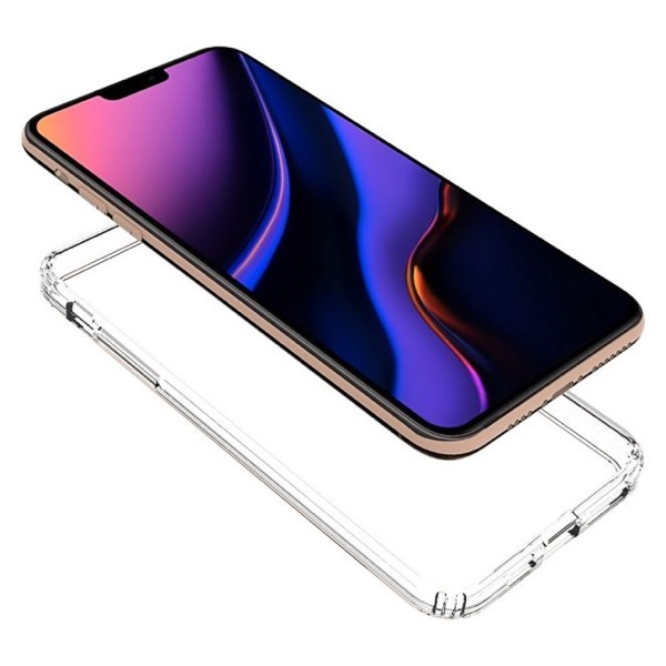 Olixar ExoShield Clear iPhone 11 Max side