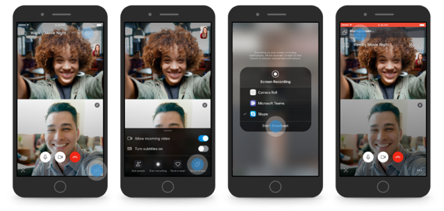 Skype Brings its Screen Sharing Feature to iOS and Android