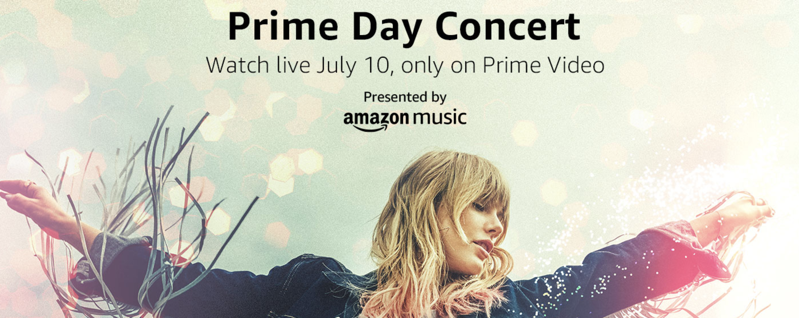 Amazon Prime Day Concert To Live Stream July 10 Featuring Taylor Swift Iphone In Canada Blog