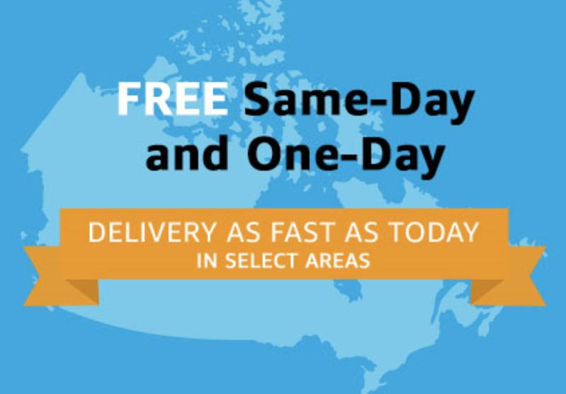 Amazon prime same day