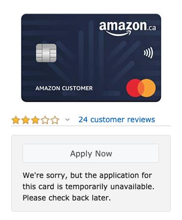 Amazon rewards mastercard