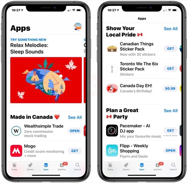 App store canada day